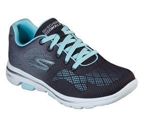 Blue Black Skechers Skechers GOwalk 5 - Alive
