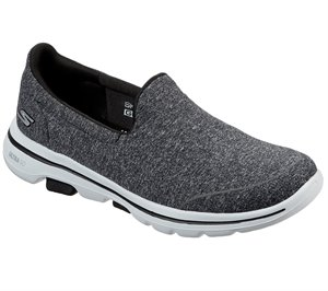 White Black Skechers Skechers GOwalk 5 - Super Sock