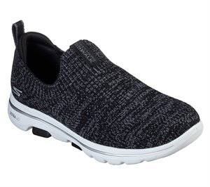 Gray Black Skechers Skechers GOwalk 5 - Trendy