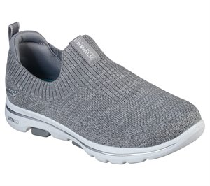 Gray Skechers Skechers GOwalk 5 - Trendy