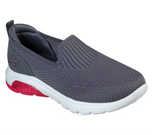 Pink Gray Skechers Skechers GOwalk Air