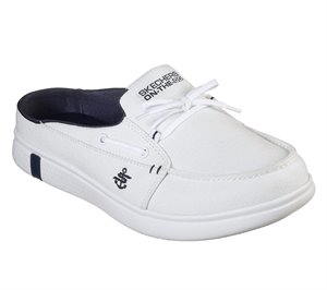 Navy White Skechers Skechers On the GO Glide Ultra - Sail