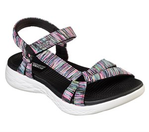 Multi Black Skechers Skechers On the GO 600 - Dazzling