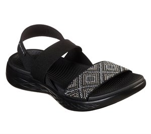 Black Skechers Skechers On the GO 600 - Glitzy