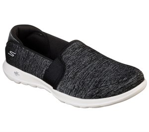 White Black Skechers Skechers GOwalk Lite - Love