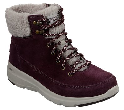 Red Skechers Skechers On the GO Glacial Ultra - Woodlands
