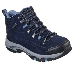Gray Navy Skechers Relaxed Fit: Trego - Alpine Trail