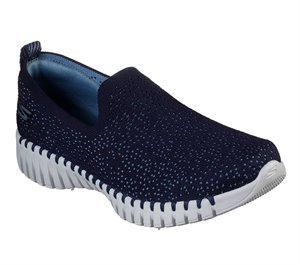 Gray Navy Skechers Skechers GOwalk Smart