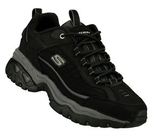 Black Skechers Energy - Downforce Extra Wide