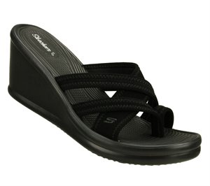 Black Skechers Rumblers-Beautiful People