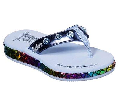 Multi Navy Skechers Twinkle Toes: Sunshines - Mermaid Dreams