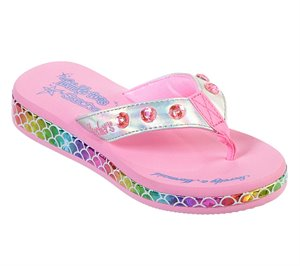 Multi Silver Skechers Twinkle Toes: Sunshines - Mermaid Dreams