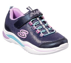 Multi Navy Skechers S Lights: Power Petals