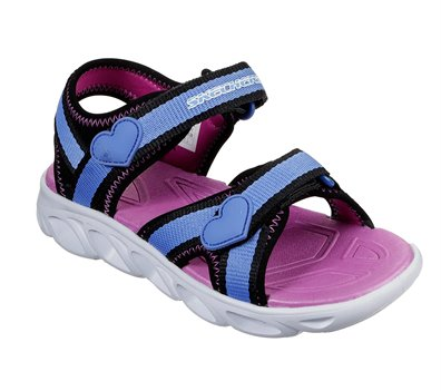 Blue Black Skechers S Lights: Hypno-Splash - Splash Zooms - FINAL SALE