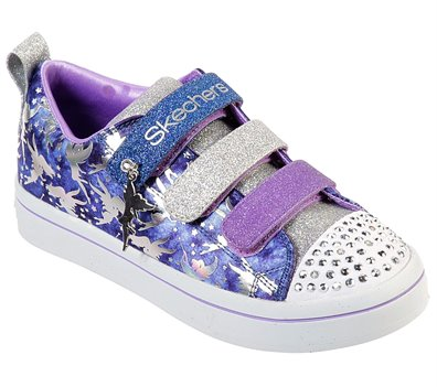 Multi Navy Skechers Twinkle Toes: Twi-Lites - Fairy Wishes