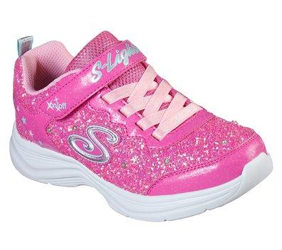Details about Skechers Girls' S Lights Glimmer Kicks Glitter N' Glow Sneaker
