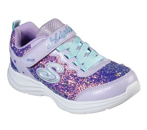 Blue Purple Skechers S Lights: Glimmer Kicks - Glitter N' Glow - FINAL SALE