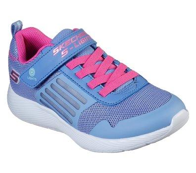 Pink Blue Skechers S Lights: Dyna-Lights - FINAL SALE
