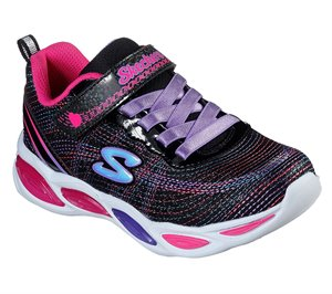 Multi Black Skechers S Lights: Shimmer Beams - Sparkle Glitz