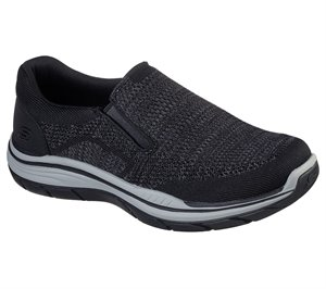 Black Skechers Relaxed Fit: Expected 2.0 - Arago