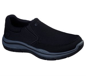 Gray Black Skechers Relaxed Fit: Expected 2.0 - Andro - FINAL SALE