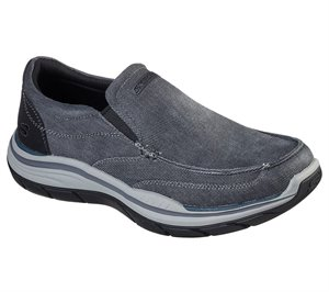 Black Skechers Relaxed Fit: Expected 2.0 - Brako - FINAL SALE