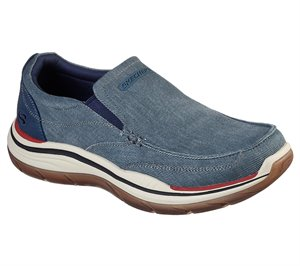 Navy Skechers Relaxed Fit: Expected 2.0 - Brako - FINAL SALE