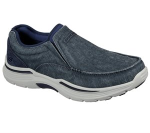 Blue Skechers Relaxed Fit: Expended - Relfen - FINAL SALE