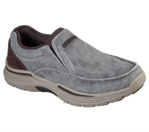 Brown Skechers Relaxed Fit: Expended - Relfen - FINAL SALE