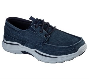 Navy Skechers Relaxed Fit: Expended - Kevan - FINAL SALE