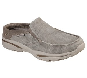 Natural Skechers Relaxed Fit: Creston - Backlot - FINAL SALE