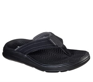 Black Skechers Relaxed Fit: Sargo - Wolters - FINAL SALE