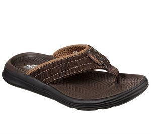 Brown Skechers Relaxed Fit: Sargo - Wolters - FINAL SALE