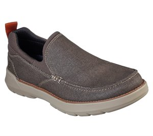 Brown Skechers Relaxed Fit: Doveno - Hangout - FINAL SALE