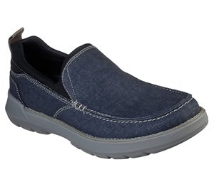 Navy Skechers Relaxed Fit: Doveno - Hangout