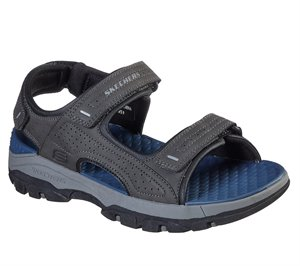Gray Skechers Relaxed Fit: Tresmen - Garo - FINAL SALE
