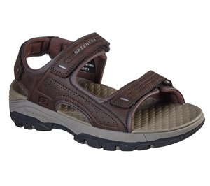 Brown Skechers Relaxed Fit: Tresmen - Garo - FINAL SALE