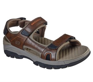 Brown Skechers Relaxed Fit: Tresmen - Hirano - FINAL SALE