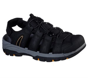 Black Skechers Relaxed Fit: Tresmen - Outriver