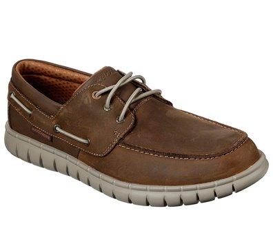 Brown Skechers Moreway - Walken - FINAL SALE