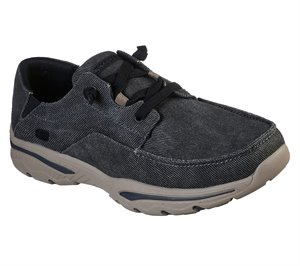 Black Skechers Relaxed Fit: Creston - Selden