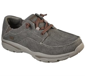 Brown Skechers Relaxed Fit: Creston - Selden