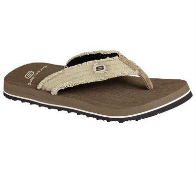 Brown Skechers Tantric-Fray