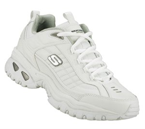 White Skechers Energy - After Burn