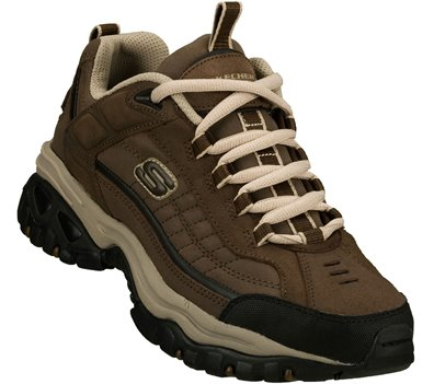 Brown/Taupe Skechers Energy - Downforce Extra Wide - FINAL SALE