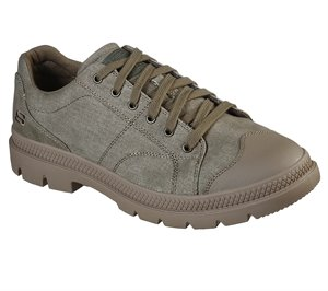 Natural Skechers Relaxed Fit: Roadout - Pelson - FINAL SALE