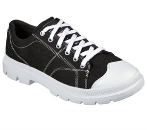 Black Skechers Relaxed Fit: Roadout - Alero - FINAL SALE
