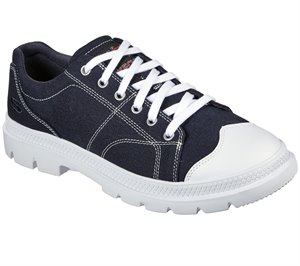 Navy Skechers Relaxed Fit: Roadout - Alero - FINAL SALE