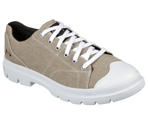 Natural Skechers Relaxed Fit: Roadout - Alero - FINAL SALE