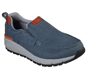 Blue Skechers Relaxed Fit: Volero - Baldor - FINAL SALE